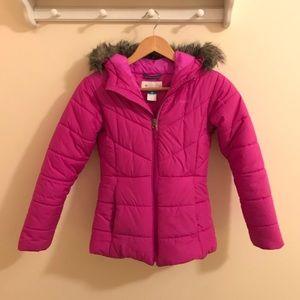 Girls' Katelyn Crest Winter Jacket (Size M 10/12)